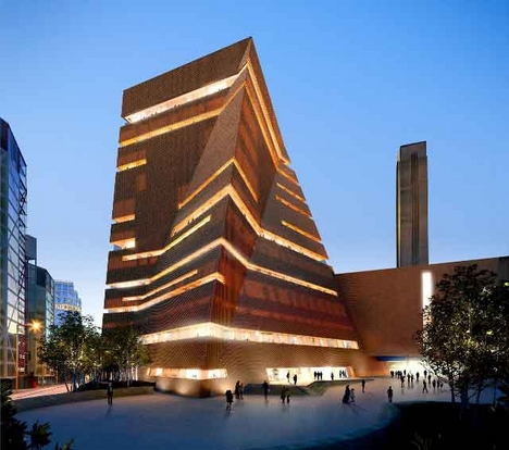 Herzog & de Meuron 's Tate Modern extension.