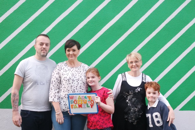 MK Gallery's third Family-in-Residence, the Pozzuto family.